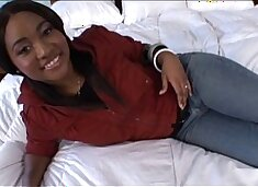 Young ebony teen cutie fucked in Amateur Teen Porn