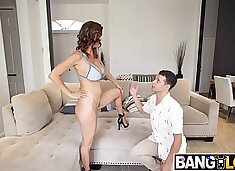 Stepmom Alexis Fawx Fucks Step Son Like A Porn Star