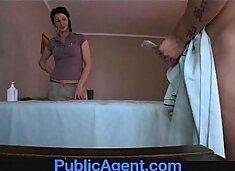 PublicAgent Fucking the Masseur MILF