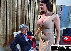 Donald`s Wife Melonia Taking Big Bill`s Cock in the White House - Eva Karera