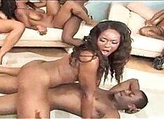 b. Cakes Twerking On The Dick!