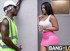 Rose Monroe Bangs Construction Worker