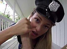 SinsLife - Female Police Officer Gets Fucked by HUGE BIG DICK