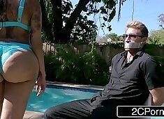 Bubble Butt Kim K Fucking Trapped Paparazzi - Lela Star