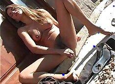 Paola Rey - Masturbation In Public