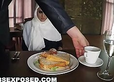 ARABSEXPOSED - Hungry Woman Gets Food and Fuck (xc15565)