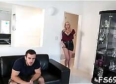 Whore receives bonked by a stepfather