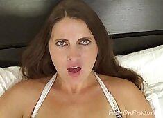 Madisin Lee in My Son`s Breakup. Virtual sex between MILF mom and Son
