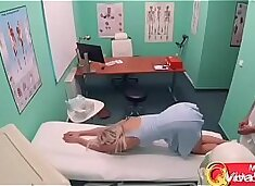 Busty Young Wife Cheating with Doctor