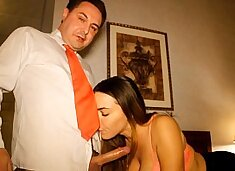 Natasha Nice: a porn 69 video with Andrea Diprè