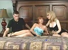 Mom and Son visit dominant Aunt on her Birthday