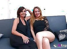 Chatting with `em: Natalia and Lucia, two hot milfs who are hungry of young meat