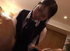 azn bbc mayori nishikura piyo 056 schoolgirl attacks older bbc guest