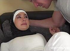 Hijab Muslim Girl Fucked hard-More visit Egyporn