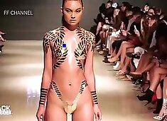 Tape Modeling Nudity