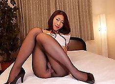 reiko kobayakawa  pantyhose fetish