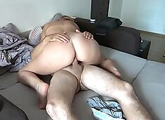 Neighbor fucked before her husband comes home ! cheating wife