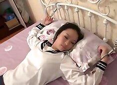 Chinese School Girls Tied