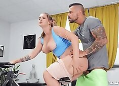 Taylee Wood - Cheating Wife`s Big Tits Workout