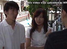 Asian wife cuckolds husband