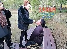 Chinese Femdom Trample