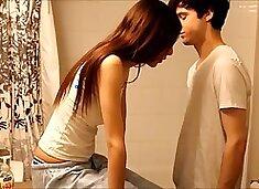 Perverted older brother seduces sister