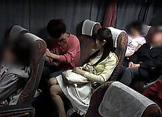 Japanese College Friend Fuck Game In Public Bus