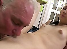 Remarkable barely legal sweetheart Mila enjoys sex action