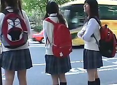 groper In Front Of Innocent Girl