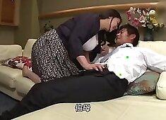 Japanese Milf took away her daughter&#39s beloved boyfriend