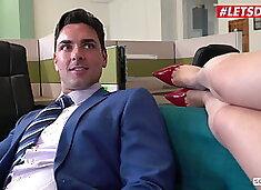 LETSDOEIT - Hot Office 4some Fun With Sexy Valentina Nappi