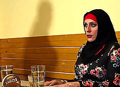 Muslim woman spread her legs for ID`s