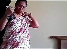 Indian maid affair with owners son