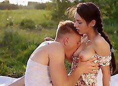 Romantic Sex On Picnic