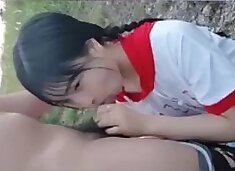 Chinese cute girl public fuck part 1