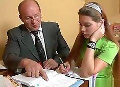 Gorgeous teacher bull fucks youg schoolgirl